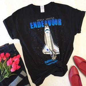 Gildan Tops - NASA Space Shuttle Endeavor Shirt
